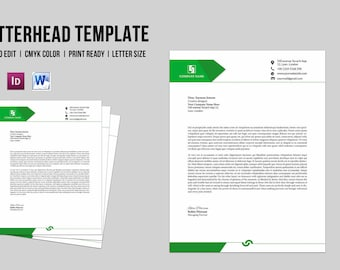 Corporate letterhead template business letterhead company corporate business letterhead template company letterhead printable photoshop indesign ms word template spiritdancerdesigns Choice Image