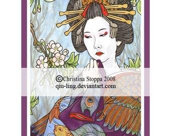 Ikkiichiyuu - Original Art Print by Chrisitna Stoppa