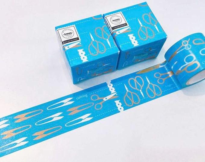Washi tape hoppy mini box cut Blue