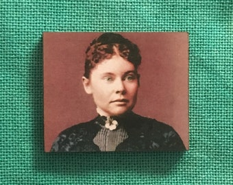 Lizzie Borden Wooden Needle Minder