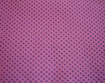 COTTON pink and purple 50 x 57 cm