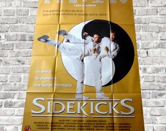 "1992 Chuck Norris poster cinema ""sidekicks"""
