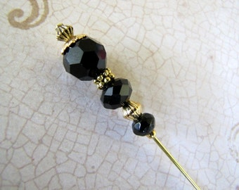 Black  Hatpin, Hijab pin