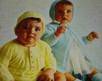 Baby Styles PATTERN Book by Beehive Patons patterns number 117