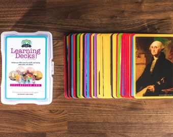 Flashcards | Birthday Gift | Famous Photographs | History | Montessori | Homeschool | Landmarks | Kid Gifts | Educational | Elementary | Toy