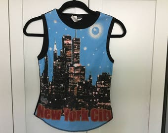 Vintage Twin Towers sleeveless t shirt small