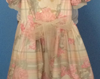 Girls Beautiful chintz dress