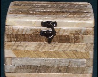 Rustic Wood Log Box Pet Urn