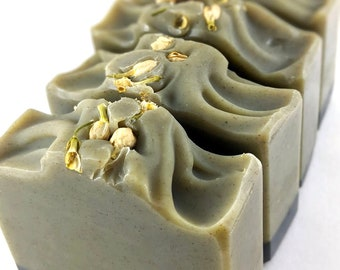 sorry not sorry - orange ~ grapefruit ~lime ~ tea tree ~ frankincense - Handcrafted Vegan Soap, EvieSoap, palm free clay soap, exfoliating