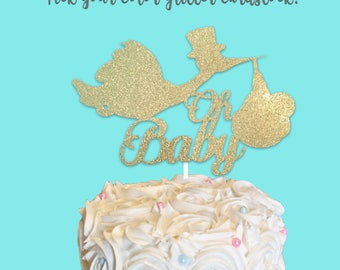 Baby Shower cake topper,Welcome Baby Cake Topper, baby shower cake topper, baby shower centerpiece stick, BabyShower, its a girl, its a boy