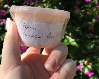 Peach Cinnamon Roll Slime