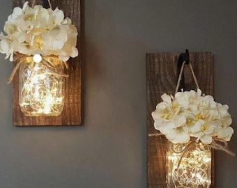Firefly Light Mason Jars