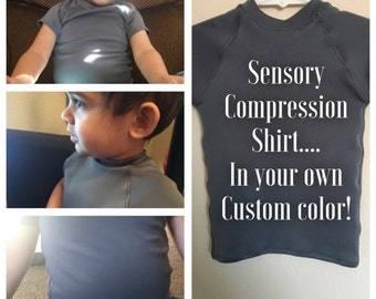 Sensory Compression Shirt, compression vest, autism compression shirt, compression shirt