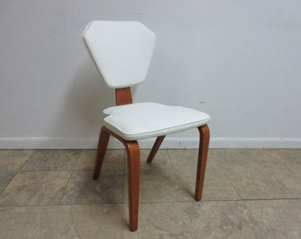 Vintage Bentwood Thonet Dining Room Side Desk Chair Mid Century C