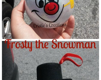 Frosty the Snowman Christmas ornament