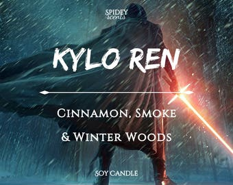 Kylo Ren Soy Candle