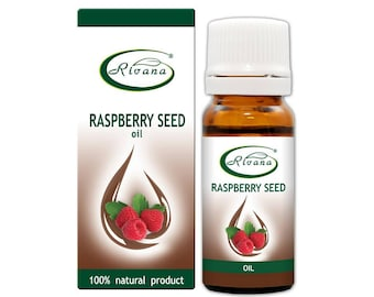 Raspberry Seed Oil Carrier Base Oil Pure Premium Quality 10/100 ml Aromatherapy 100% Natural Vegetable oil / Essential oil