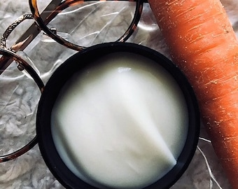 Organic Carrot and Turmeric Complexion Cream - For Face & Neck.