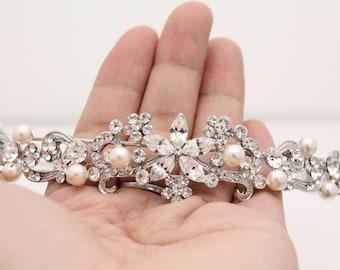 Bridal headband Hair accessory Wedding headband pearl Wedding hair jewelry Headband Bridal hair accessory Headband Wedding headpiece pearl