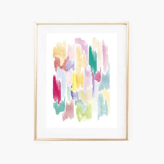Nursery Colorful PrintsInstant Download nurseryAbstract