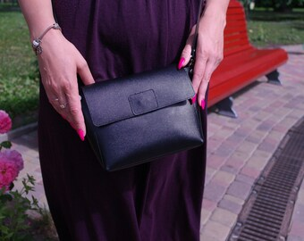 Leather Crossbody Bag, Leather purse, Everyday Purse, Shoulder Women Purse, Shoulder Bag, Women Crossbody, bag evening