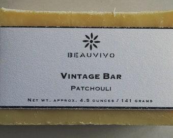 Vintage Patchouli Natural Soap