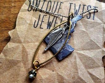 Idaho Flight Necklace