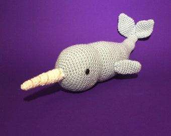 Viola the Narwhal Crochet Kit