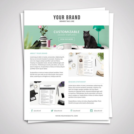 Product Media Kit Template  Press Kit Pitch Kit