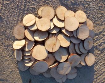 60 Rustic Tree Slices cypress Wood. Rustic Slices.