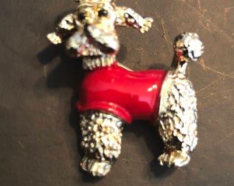 Gerris Poodle Pin