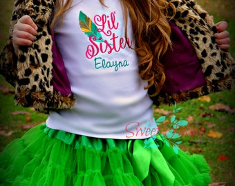 Baby Girl Clothes - Little Sister Shirt - Big Sister Shirt - Sibling Shirt - I'm going to be a big sister - Pregnancy Announcement