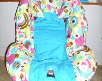 Custom made car seat cover set - Provide your own fabrics