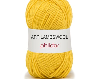 "wool LAMBSWOOL color citrus ""Garance"""
