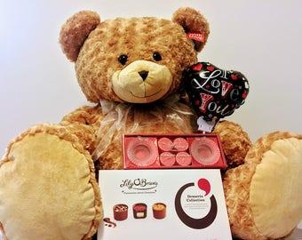 Large Valentine's Day Teddy Bear
