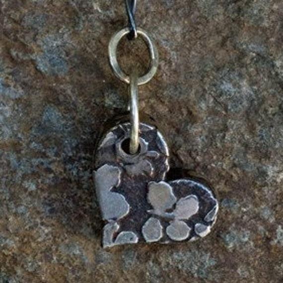 butterfly heart lariat