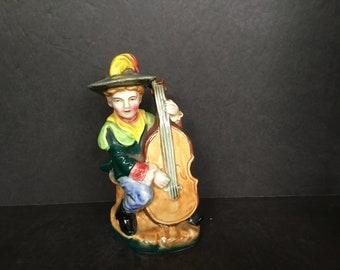 Cowboy Musician Figurine - Unknown Maker
