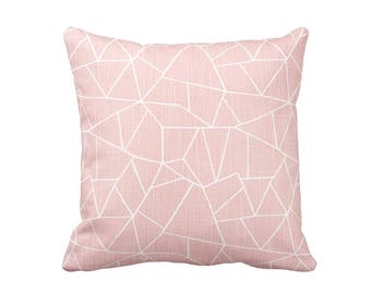 11 Sizes Available: Pink Throw Pillow Cover Blush Pink Pillow Cover Decorative Pillows for Couch Pillows Pink Euro Pillows Oversized Pillows