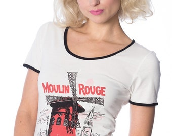Dancing Days Banned Paris Moulin Rouge T-Shirt