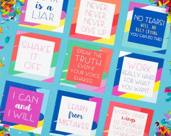 Mini Pep Talks - Pack of 12 cards