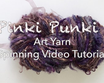 Art yarn spinning video tutorial - how i do my colours, the colour theory, colour in design - layer cake fibre prep