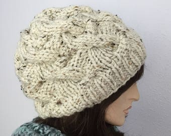 Women Chunky Knit Hat Women Slouchy Hat Womens Accessories Fall Fashion Winter Hat