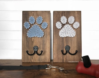 DOG LEASH HOLDER | String Art | Pets | Accessory Holder