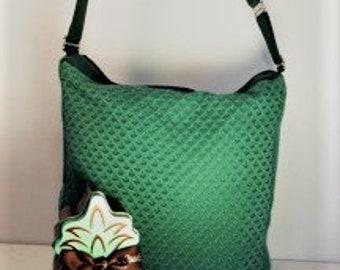 Grassy Green Shoulder or Cross Body Bag