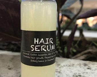 Hair Serum Growth Treament treats Itching Scalp, Hair loss, Slow Growth
