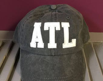 Custom ATL Atlanta Aviation Baseball Cap