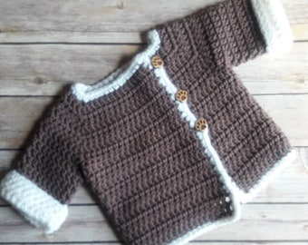 Baby Shearling Look Sweater