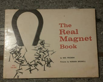 RARE The Real Magnet Book by Mae Freeman-1967