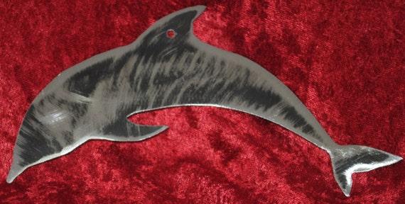 Dolphin, Metal Dolphin, Ocean, Ocean Animal, Marine Animal,  Ocean Nautical, Marine Sea Life, Beach House, Home Decor, Dolphin Decal
