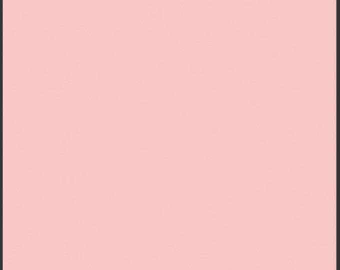 One Yard Crystal Pink - Pure Elements Solid Cotton Quilt Fabric - Art Gallery Fabrics - PE-420 (W485)